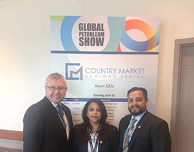 13th June- Global Petroleum Show, Calgary
